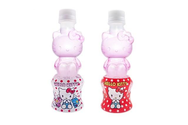 キャラクターペットボトルは『株式会社セブンワン』!お部屋に飾れるキティちゃんの可愛いボトル